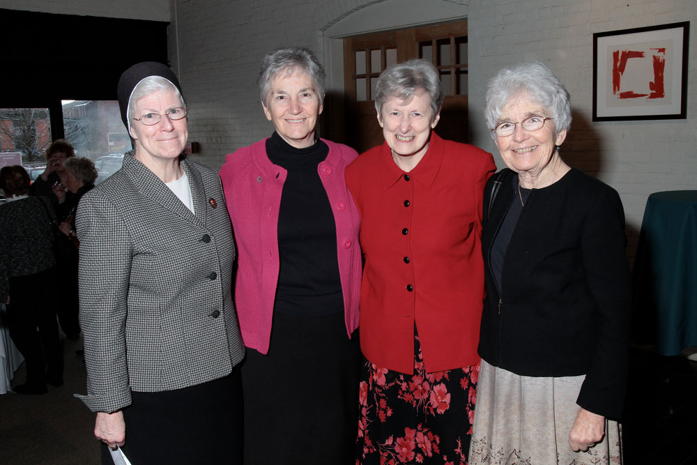 4 recipients of the 2019 Sister Mary Charles Award