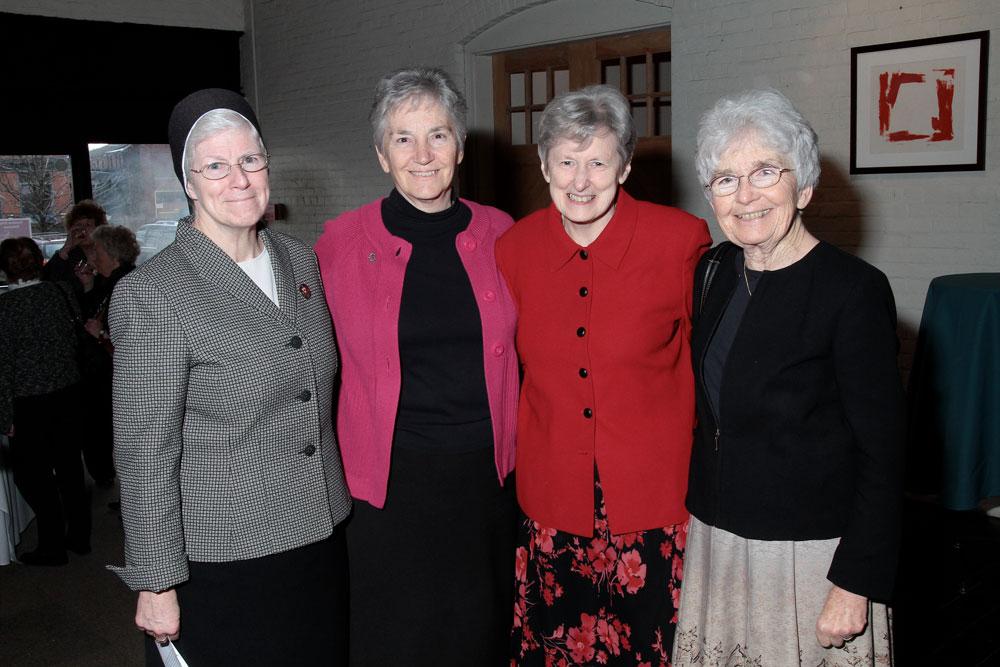 4 recipients of the 2019 Sister Mary Charles Award